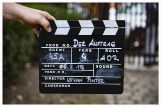 Filmdreh - Der Auftrag